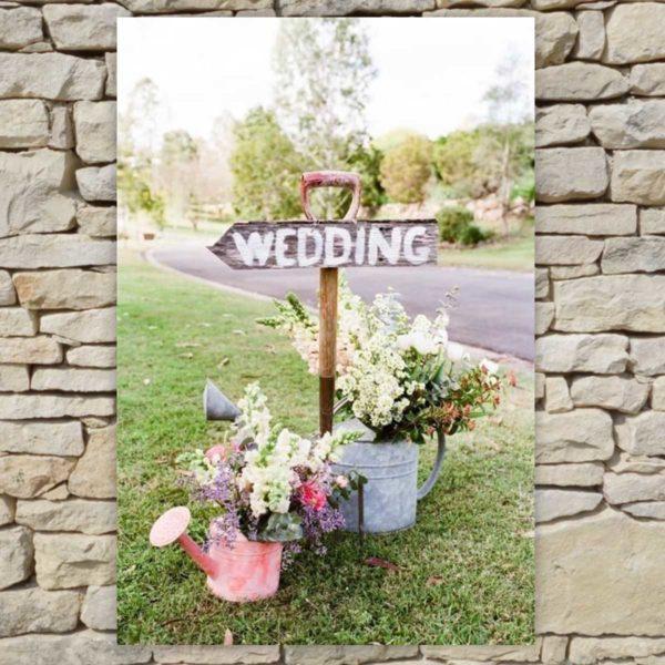 Location déco Mariage - Tableau Wedding